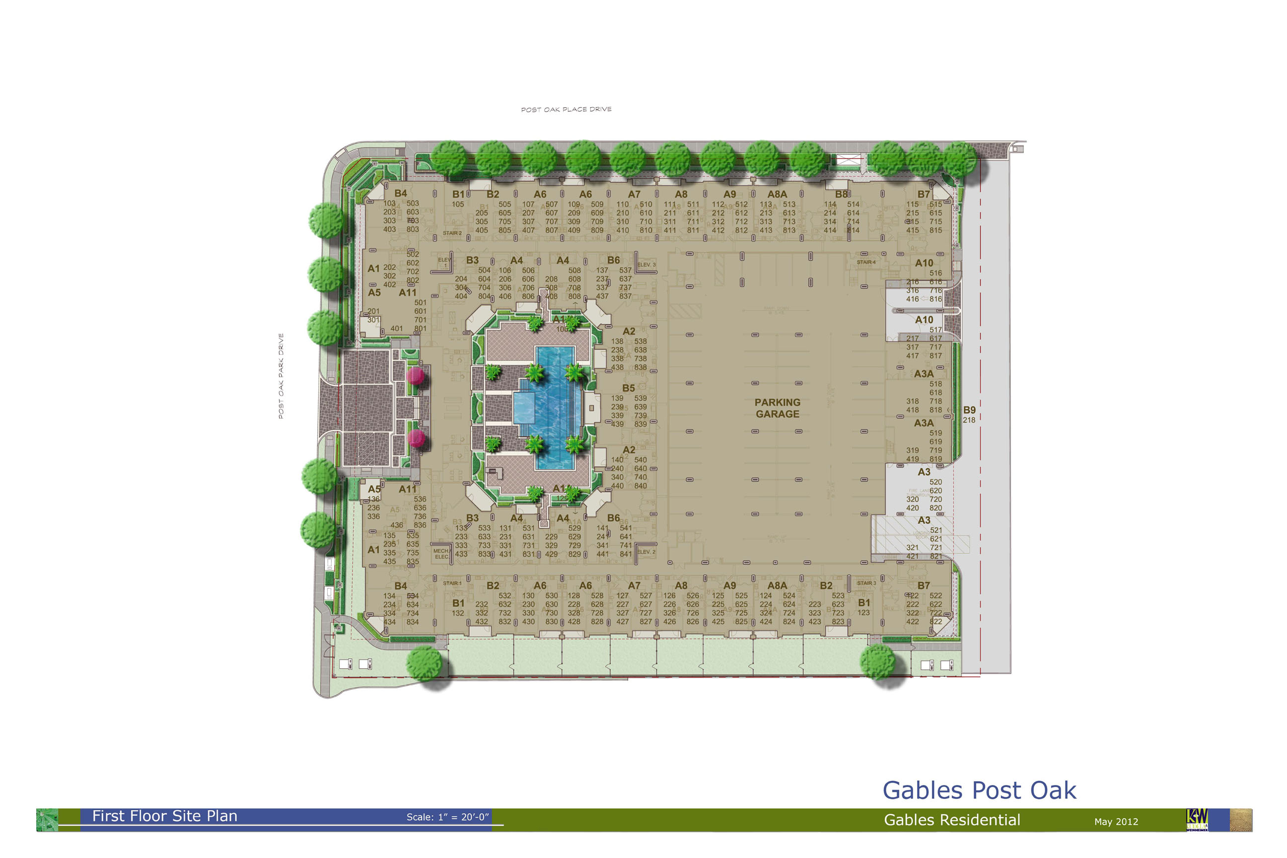 Gables Post Oak | Gables Residential Communities